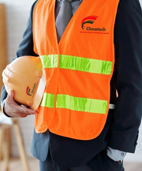 Free Construction Vest Mockup PSD Template