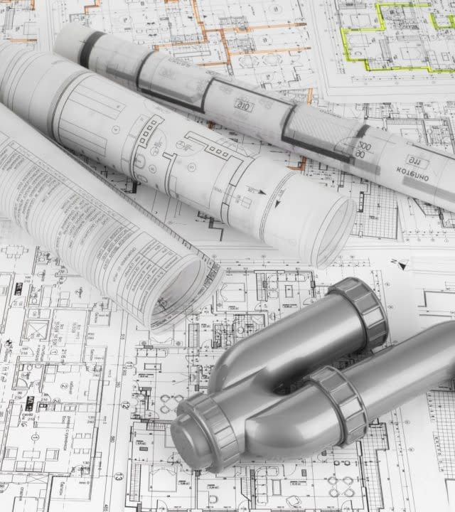 project drawings and  siphon for sewer